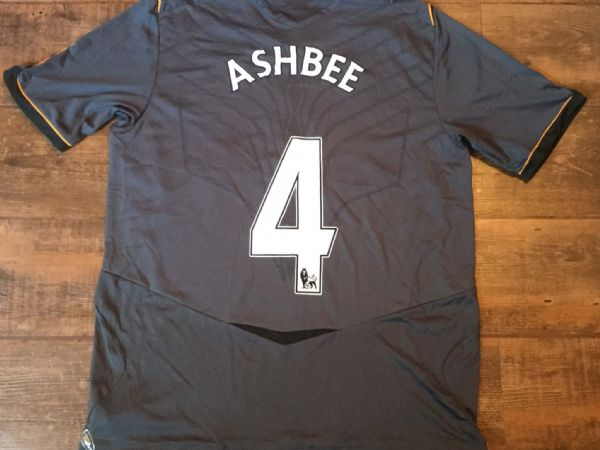 2008 2009 Hull City Ashbee No 4 Away Football Shirt Adults XL